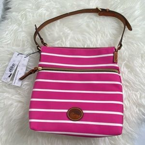 Dooney & Bourke Bags - NWT Dooney and Bourke Striped Shoulder Bag